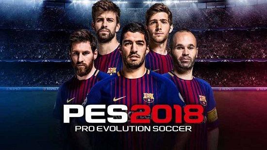 PES 2018 برای اندروید