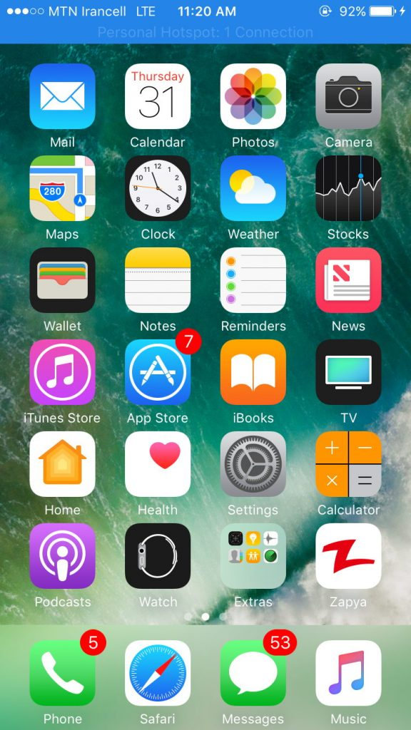 1 32 576x1024 - دانلود واتس اپ برای آیفون و آیپد WhatsApp For ios