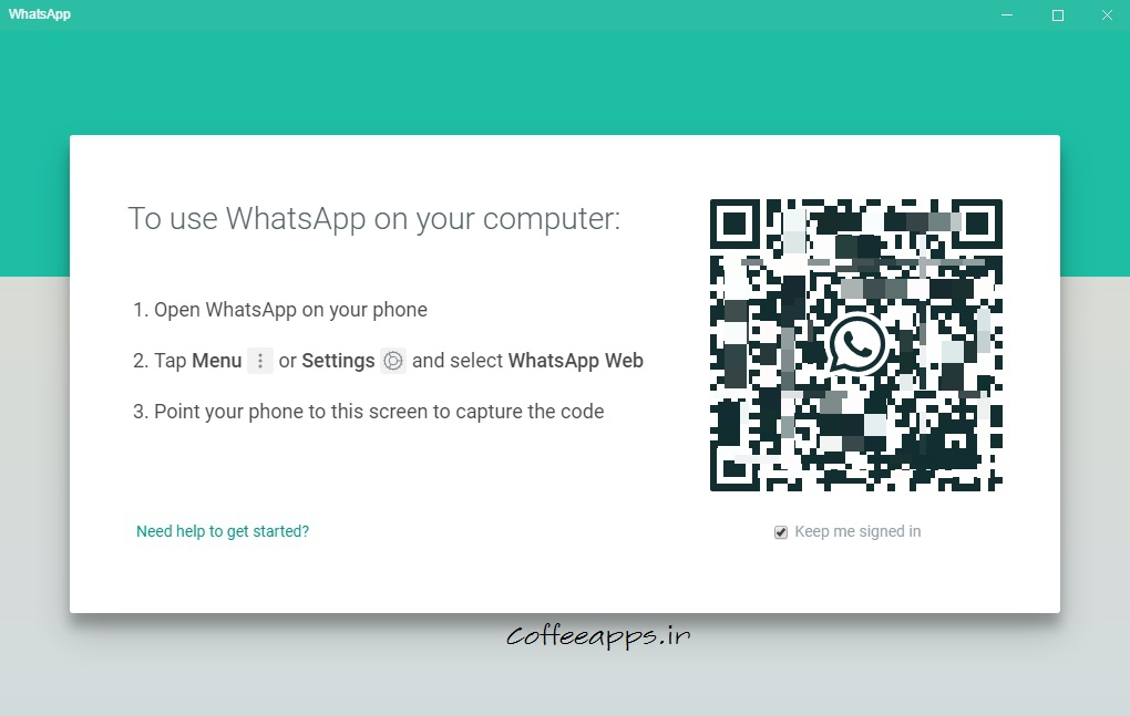 WhatsApp ویندوز