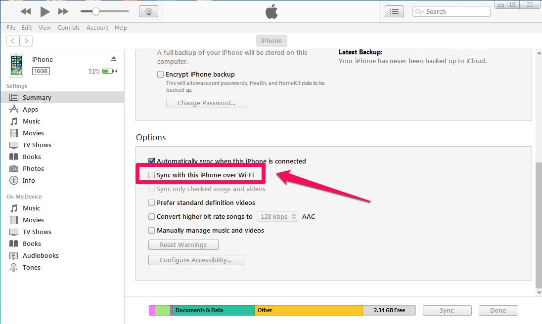 2 - آموزش وصل کردن آیفون و آیپد به آیتونز Connect iPhone to iTunes