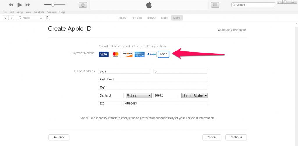 6 1024x503 - آموزش ساخت اپل آیدی برای کاربران ایرانی Create Apple ID