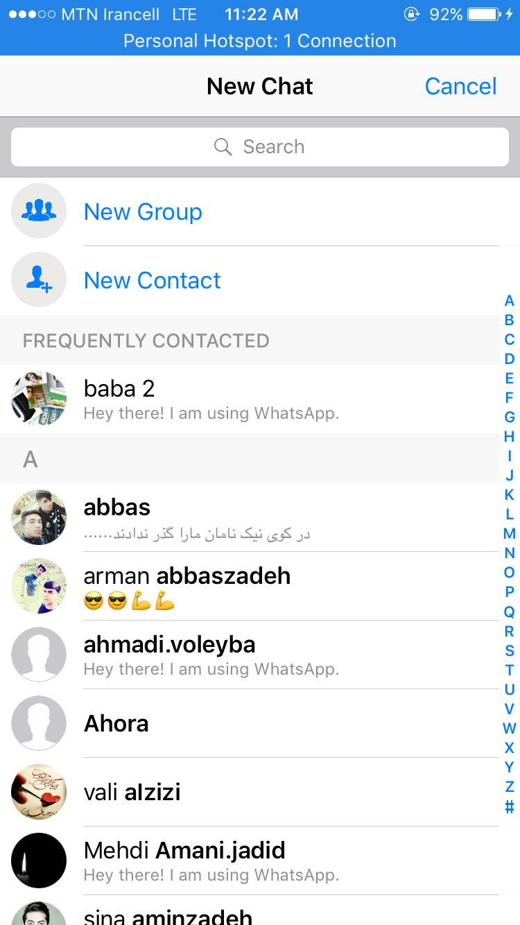 6 9 - دانلود واتس اپ برای آیفون و آیپد WhatsApp For ios