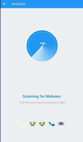 6 - Antivirus 360 Security - برنامه آنتی ویروس سکوریتی 360 اندروید