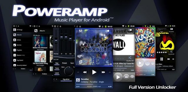 PowerAMP 1 - دانلود نسخه کامل موزیک پلیر بسیار قدرتمند Poweramp Music Player