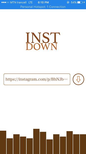 1 23 - معرفی برنامه InstaDown ذخیره تصویر و ویدیو از اینستاگرام برای آیفون