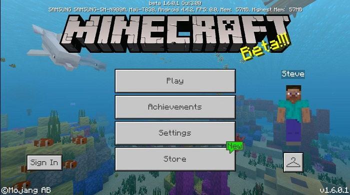 1 36 - دانلود بازی ماینکرافت برای آیفون و آیپد Minecraft For ios