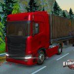 دانلود بازی شبیه ساز راننده کامیون اندروید Euro Track Driver 2018