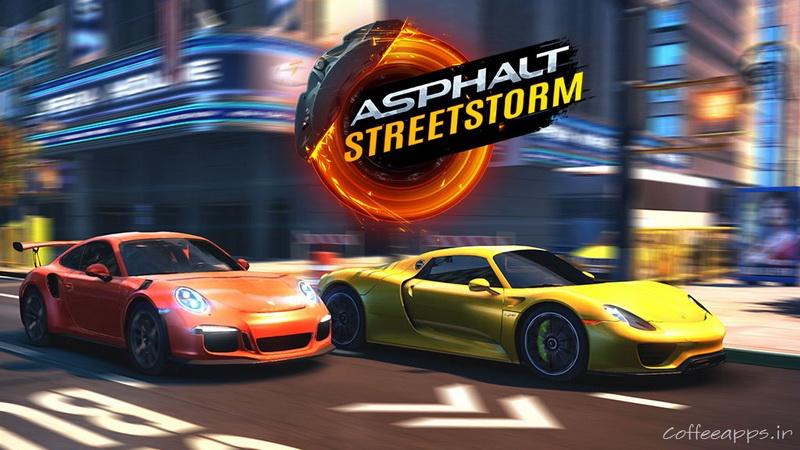 Asphalt Street Storm Racing برای اندروید