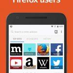 دانلود مرورگر بسیار سریع و محبوب FireFox برای اندروید