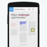 دانلود اپلیکیشن خواندن فایل های پی دی اف Adobe Acrobat Reader برای اندروید