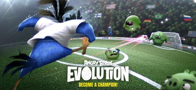 دانلود بازی پرندگان خشمگین Angry Birds Evolution برای آیفون ios
