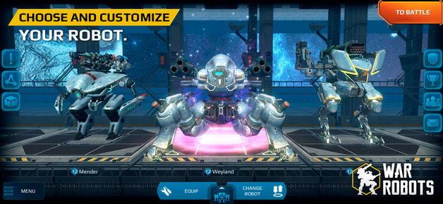 2 5 - دانلود بازی جنگ تن به تن رباتها War Robots برای آیفون و آیپد ios