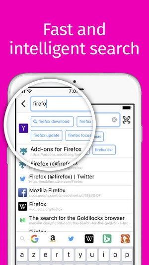 2 8 - دانلود نرم افزار مرورگر محبوب FireFox برای آیفون و آیپد ios