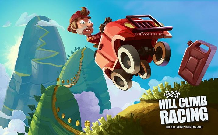 Hill Climb Racing برای اندروید