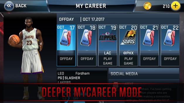 3 20 - دانلود رایگان بازی بسکتبال NBA 2K18 برای آیفون و آیپد ios