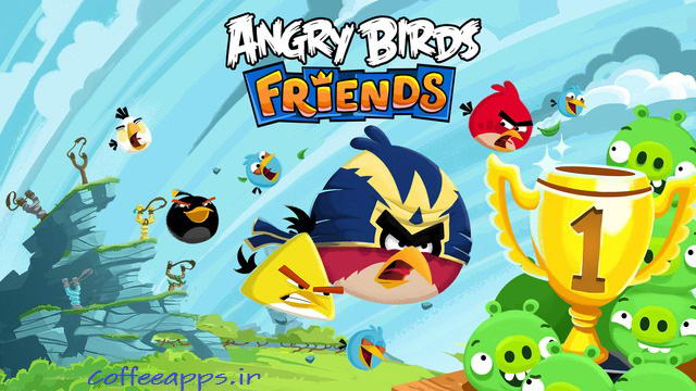 Angry Birds Friends برای اندروید