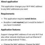 دانلود برنامه تغییر مک ادرس Change My MAC – Spoof Wifi MAC برای اندروید