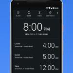 دانلود اپلیکیشن ساعت گوگل با نام Google Clock برای اندروید