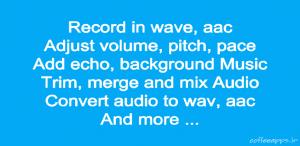 دانلود برنامه ظبط و ویرایش صدا Audio Recorder and Editor برای اندروید