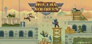 دانلود بازی هیجان انگیز فانتزی Metal Soldiers + MOD برای اندروید