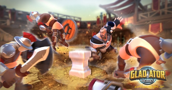 Gladiator Heroes: Clan War برای اندروید