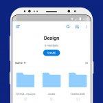دانلود اپلیکیشن ذخیره فایل در شبکه های ابری Dropbox برای اندروید