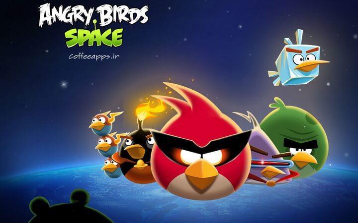 Angry Birds Space برای اندروید