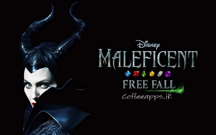 Maleficent Free Fall apk cover  resize - دانلود بازی جورچین جذاب Maleficent Free Fall برای اندروید + DATA