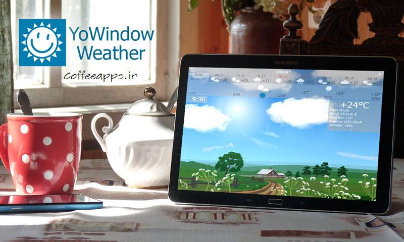 YoWindow Weather برای اندروید