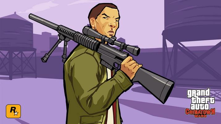 grand theft auto chinatown wars - بازی زیبا و محبوب جی تی ای جنگها در محله چینیها GTA Chinatown Wars برای اندروید