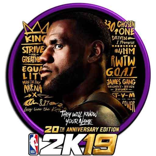 دانلود آخرین نسخه ی بازی بسیار جذاب بسکتبال NBA 2K19 برای اندروید