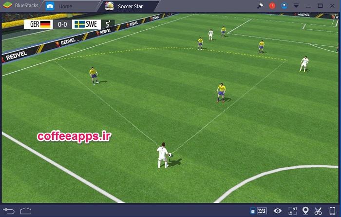 دانلود Soccer Stars بازی ستاره های فوتبال برای کامپیوتر