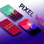 دانلود برنامه والپیپر منحصر به فرد Pixel walls برای اندروید