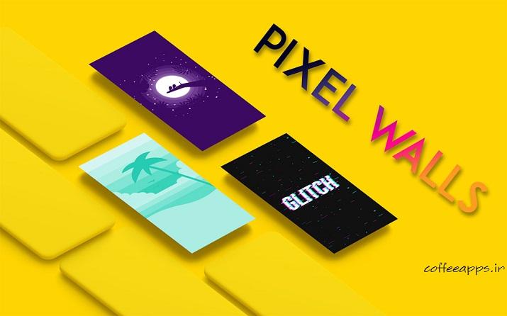 Pixel walls - دانلود برنامه والپیپر منحصر به فرد Pixel walls برای اندروید