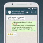 WhatsApp Business برای اندروید