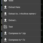 دانلود نرم افزار باز کردن فایل فشرده اندروید ZArchiver Pro