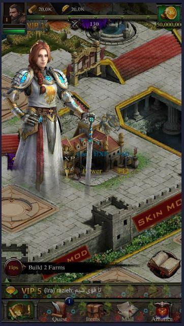 2 5 - دانلود نسخه هک شده بازی کلش اف کینگز Clash Of Kings Hack