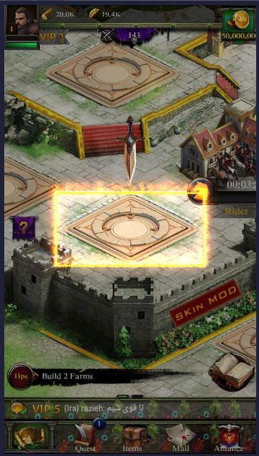 3 5 - دانلود نسخه هک شده بازی کلش اف کینگز Clash Of Kings Hack