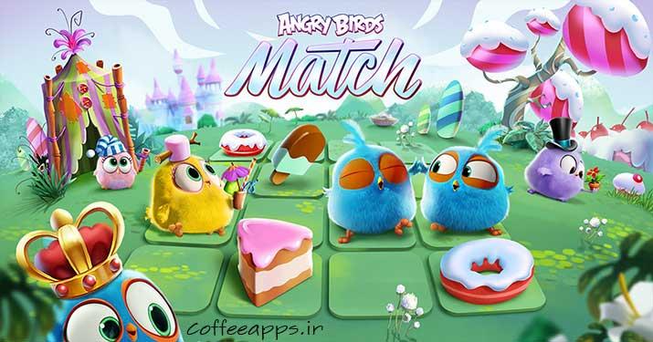 Angry Birds Match برای اندروید