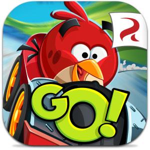 دانلود بازی سرگرم کننده ی Angry Birds Go برای اندروید + مود + دیتا