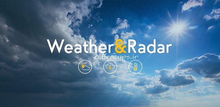 Weather & Radar Pro برای اندروید