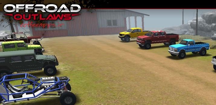 Offroad Outlaws Cover - دانلود بازی ماشین سواری Offroad Outlaws برای اندروید