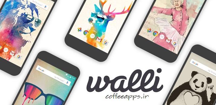 Walli Wallpapers HD Full - دانلود اپلیکیشن والپیپر Walli – Wallpapers HD برای اندروید
