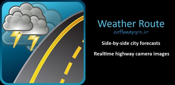 Weather Route برای اندروید