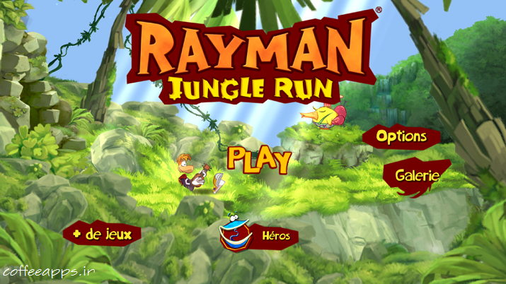 Rayman Jungle Run بازی