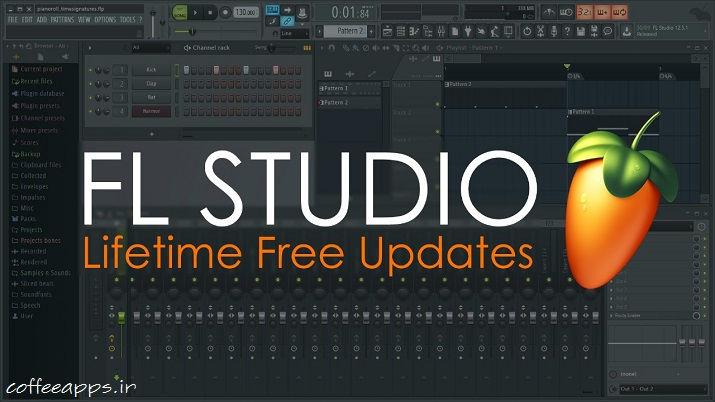 FLStudioLFU ios - دانلود اپلیکیشن آهنگسازی FL Studio Mobile برای آیفون و IOS