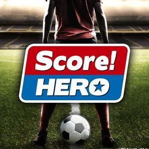 دانلود بازی Score! Hero فوتبال واقعی برای آیفون و IOS