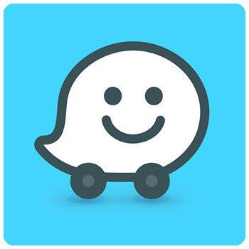 دانلود اپلیکیشن مسیریاب Waze برای آیفون و آیپد IOS
