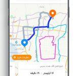 دانلود Balad برنامه نقشه و مسیریاب سخنگو بلد برای اندروید