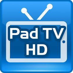 دانلود PadTV HD برنامه دریافت شبکه های تلویزیونی بر روی اندروید